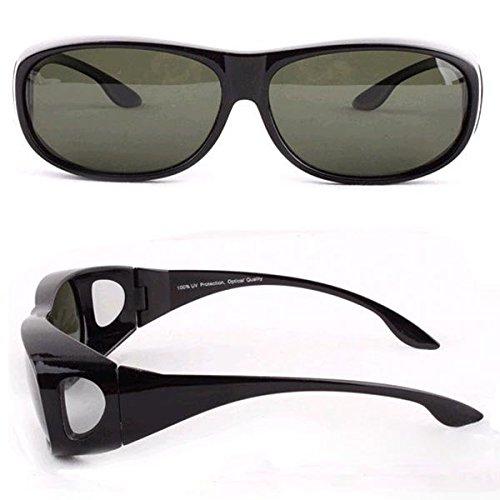 Bazaar UV 400 Sonnenbrille Radsport Autofahren Reiten oder Fahren Rennen Angeln Gläser