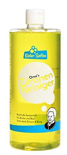 Kieler Seifen - Oma's Zitronenreiniger Badreiniger Sanitär Putzmittel Reinigungsmittel - 950ml