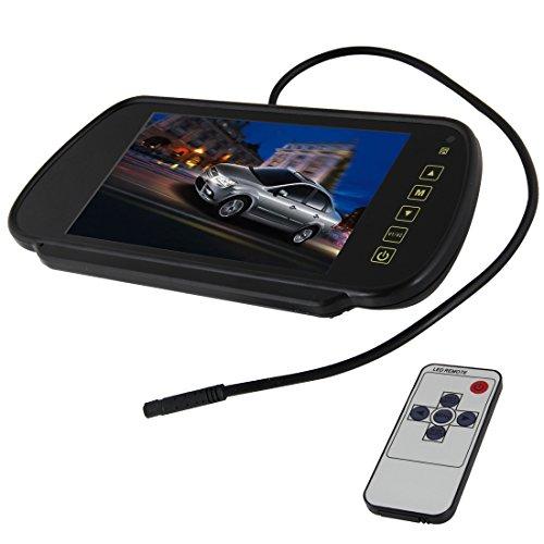 Pathson 7 Pouces TFT LCD Moniteur de Voiture Rétroviseur Caméra de Recul Moniteur de Voiture