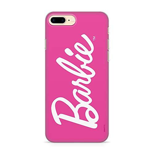 Estuche para iPhone 7 Plus, 8 Plus Barbie Original con Licencia Oficial, Carcasa, Funda, Estuche de Material sintético TPU-Silicona, Protege de Golpes y rayones