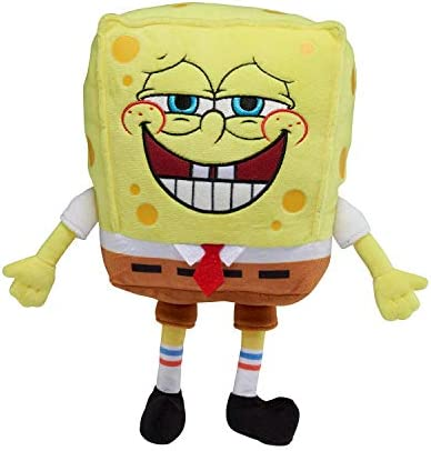 SpongeBob SquarePants Officially Licensed Exsqueeze Me Plush with Silly Fart Sounds 11 Inches product image