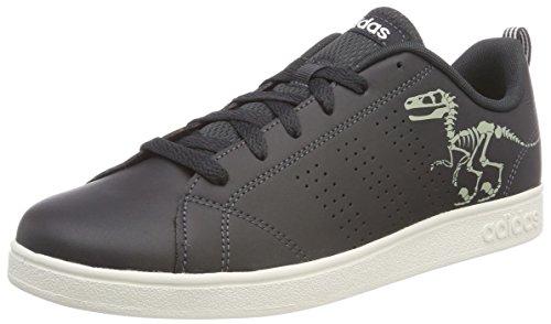 adidas Vs Advantage Cl K, Scarpe Running Unisex-Bambini, Grigio (Carbon/Carbon/Clowhi Carbon/Carbon/Clowhi), 38 2/3 EU
