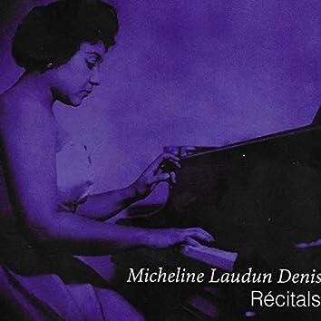 Micheline Laudun Denis Recitals