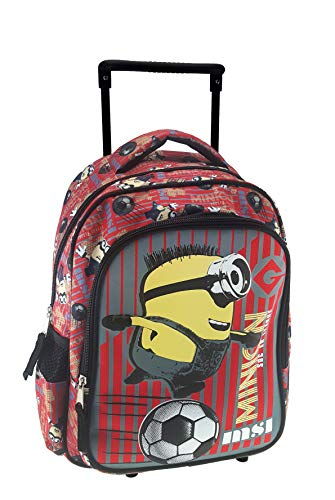 Despicable Me Minions Cartable, 30 cm, Rouge