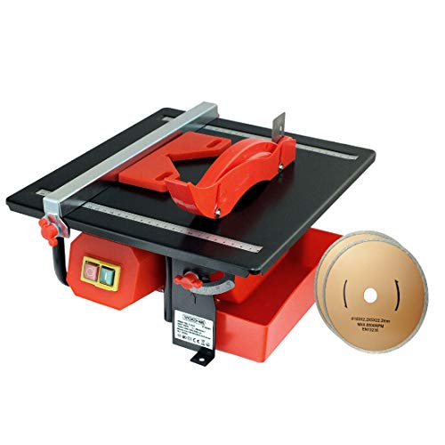 Voche® 450W Electric Wet Diamond Blade Tile Cutter Plus Free Extra 180mm...