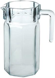 Pasabahce Kosem Water Jug, 1.25 litres, Clear