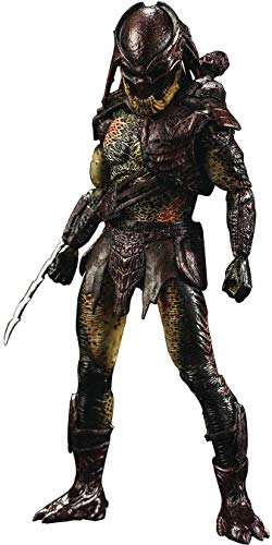 Hiya Toys Predators: Berserker Predator 1: 18 Scale Action Figure, Multicolor