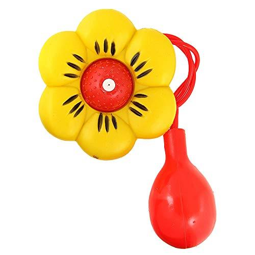 Widmann 23161 - Maxi-Spritzblume, Spaßartikel, Wasserspritze, Scherzartikel, Clown, Karneval, Mottoparty