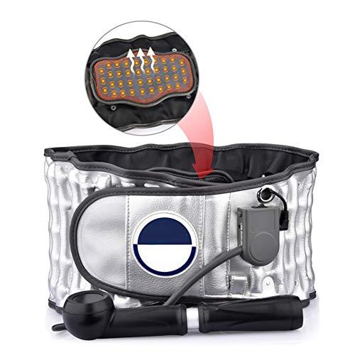 WCX Calefacción Faja Lumbar de Estiramiento de Tracción Lumbar Alivio para el Dolor de...