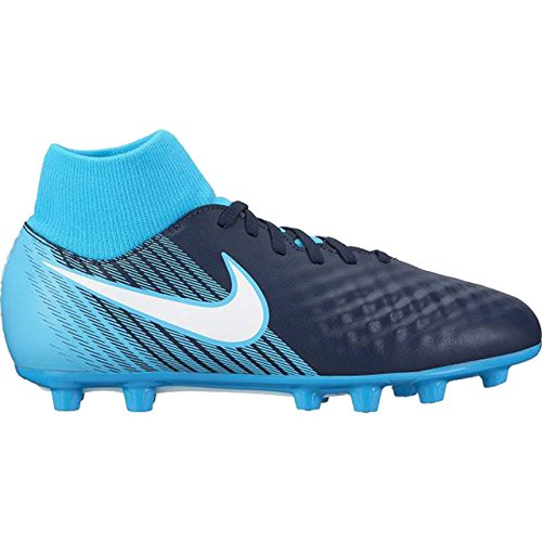 Nike Lunarglide 8 Flyknit, Zapatillas de Running para Hombre, Azul (Racer Blue/White-Black-Deep Royal Blue), 42.5 EU