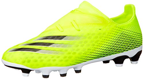 adidas X GHOSTED.2 MG, Zapatillas de fútbol Hombre, Amasol/FTWBLA/AZUREA, 44 EU