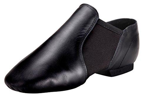Pegasus galaxy Black Jazz Shoes for Women/Big Kid Slip On 6M US