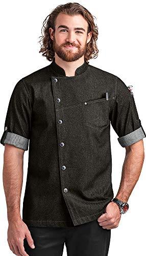 100 cotton chef coat men - 2