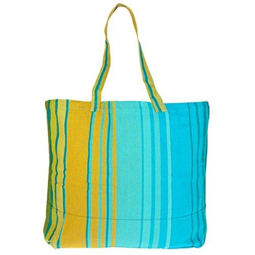 Grote boodschappentas/strandtas XXL - katoen handwerk - Fair Trade