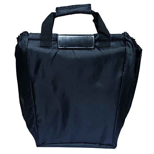 Zapato XXL winkelwagentas met kliksysteem en grote koeltas boodschappentas Shopper Shopping Bag opvouwbaar zwart