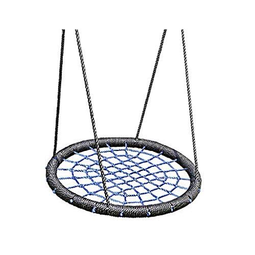 Zunruishop Spider Web Swing Schommelstoel, nylon Rope, afneembaar, verstelbare hangmat met accessoires, voor binnen en buiten