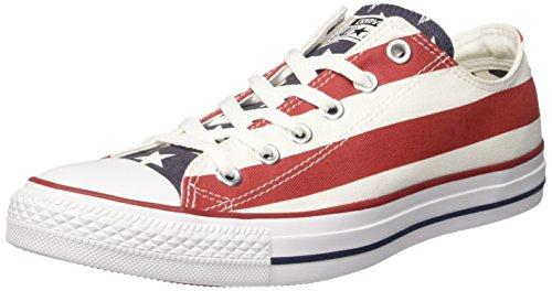 Converse Chuck Taylor All Star Ox, Zapatillas de Tela Unisex Adulto, Multicolor...
