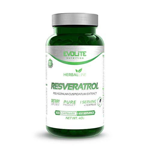 Evolite Nutrition Resveratrol 200mg - 100caps.