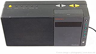 Nakamichi Portable Vintage Clock Stereo Radio/Amp 1 HiFi AM FM Radio Dual Alarm Clock,Warranty