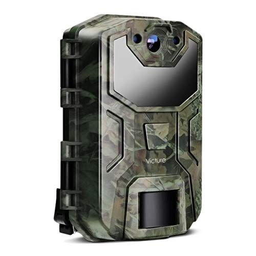 Victure Trail Game Camera 16MP 1080P Full HD with Night Vision Motion...