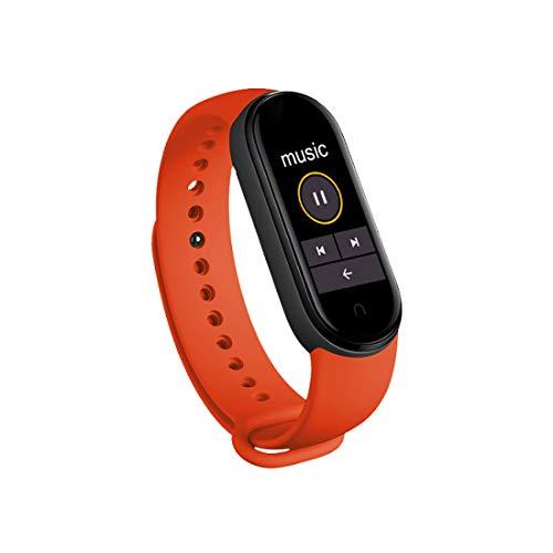 LEDMI Pulsera Inteligente Deportiva M6 Fitness Tracker Bluetooth Monitor Cardíaco Rastreador de Actividad Reloj Podómetro Muchos Colores para Elegir Adecuado para Niños Niñas Y Niños