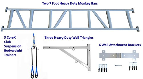 Corex Commercial Bodyweight Training Solution 14 Foot Monkey Pull Up Bar Wall Frame A Must Have Package For All Gyms And Clubs Buy Online In Barbados At Desertcart Productid 69932286
