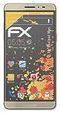 atFolix Panzerfolie kompatibel mit Coolpad Max Schutzfolie, entspiegelnde & stoßdämpfende FX Folie (3X)