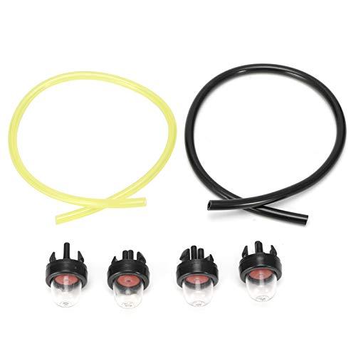 Kit de bombilla de imprimación, durabilidad Plástico Buena compatibilidad Estabilidad confiable Rendimiento estable Bombilla de imprimación Línea de combustible, para Stihl
