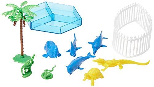 Miniatura Colecionável Zoo Aquático Brasilflex