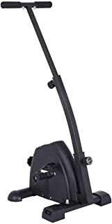 Bike Pedal Exerciser with LCD Display Bike Arm and Leg Exerciser Peddler Machine Portable Mini Seated Exercise Bike Home G...