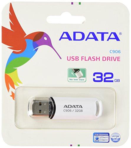ADATA AC906-32G-RWH Memoria USB 2.0, 32GB, Blanco