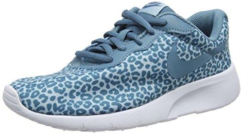 Nike Tanjun Print GG, Zapatillas de Gimnasia para Niñas, Azul (Ocean Bliss/Noise Aqua/White 402), 38 EU