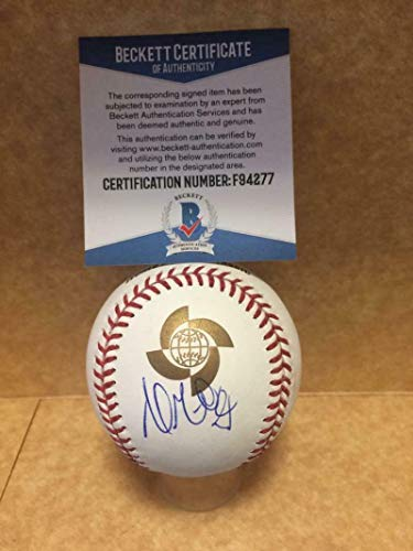 Andrew Miller Cardinals Signed Autographed Wbc M.l. Baseball Beckett F94277 - Autographed Baseballs