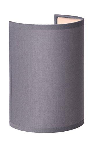 Lucide CORAL - Applique Murale - Ø 10 cm - Gris