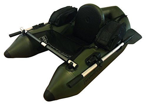 Kinetic Admiral Float Tube Belly Boat Bateau avec Rameau,...