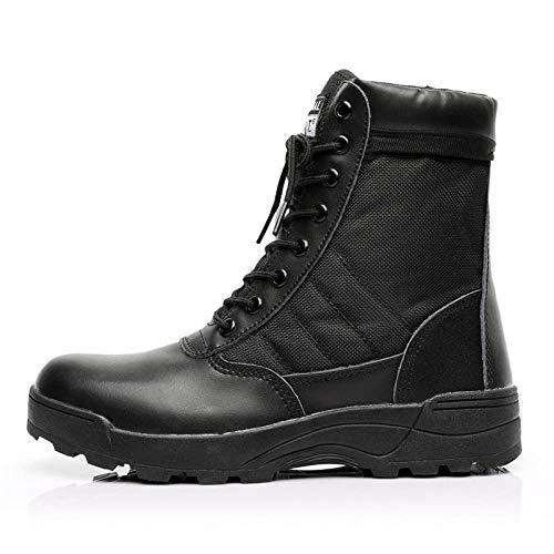 Aerlan Trainer Wanderschuhe,Zapatillas Deportivas Zapatos para Correr,Zapatos para Caminar al Aire Libre Botas Deportivas Antideslizantes High Top-Black_39#
