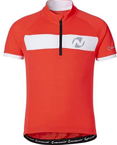 Nakamura - Radsport-Trikots & -Shirts für Jungen in Red Light, Größe 140