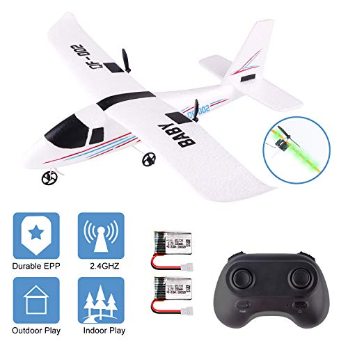 powerful RC Airplane 2.4Ghz Remote Control Airplane 2 Channel DIY Gyroscope Airplane Airplane 352mm Wingspan