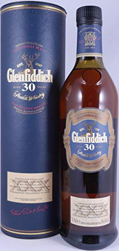 Glenfiddich 30 Years Speyside Pure Single Malt Scotch Whisky 40,0% Vol. - der mehrfach ausgezeichnete Single Malt von Glenfiddich