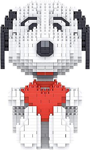 RSVT Amor Snoopy 3D Modelo De Edificio Kit De Construcción DIY Mini Diamond Blocks Ladrillos Edificio De Juguete para Niños Juguetes para Niños