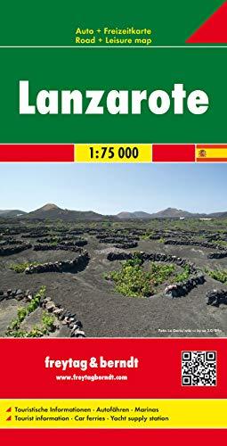 Lanzarote 1:75.000: AK 0533 (Auto karte)