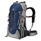 Loowoko Hiking Backpack 50L Travel Camping...
