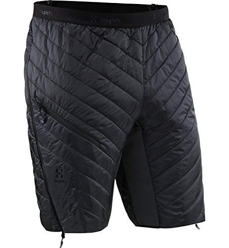Haglöfs Thermohose Herren Outdoorhose L.I.M Barrier Wärmend, Atmungsaktiv, Kleines Packmaß, Wasserabweisend True Black XL XL