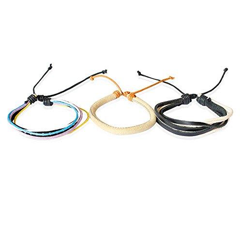 UINGKID-Serie Armband Kreative Stilvolle Charm Charming Armreif Schmuck ZubehörHand Band Phantasie New Woven Leder Armband Armreif Für Frau Männer Schmuck Armreifen