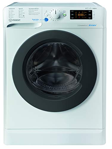 Indesit lavasciuga a libera instalazione BDE 1071482X WK IT N, 10 kg lavatrice - 7 kg asciugatrice, A