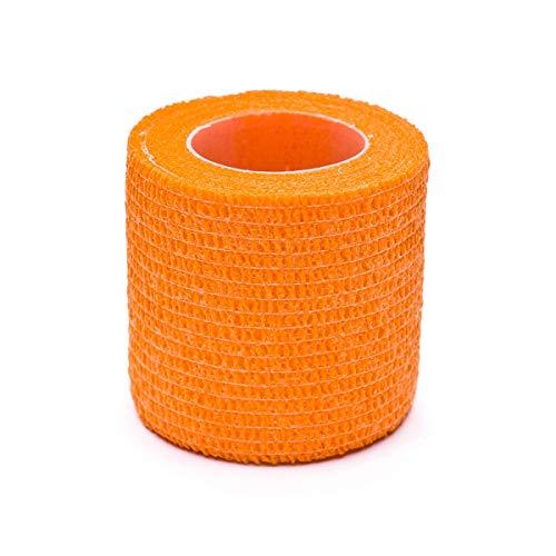 SP Fútbol sujeta espinilleras 5cmX4,6m, Tape, Naranja