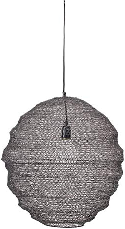 Bloomingville - Rio - Pendelleuchte, Deckenlampe, Lampe - aus derbem Metallgeflecht - (xH)  50 x 50 cm