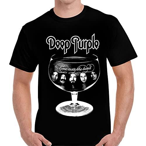 Res Deep Purple Come Taste The Band Album T Shirt Black