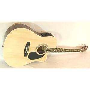 Cherrystone 4260180883268 Cutaway 4 Band EQ Westerngitarre mit Tonabnehmer natur