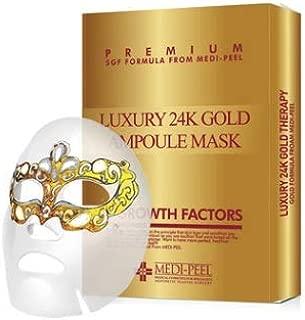 [MEDI-PEEL] Korea Beauty 24k Gold Ampoule sheet mask - 10 sheets